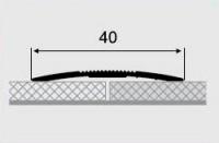 Порожки алюминиевые 1-А ламинированные открытый монтаж