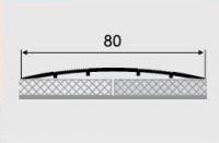 Порожки алюминиевые 11-А ламинированные открытый монтаж