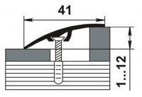 Разноуровневые порожки 15-А скрытый монтаж