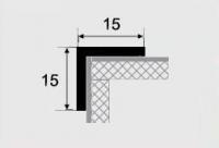 Угловой профиль 15х15 алюминий