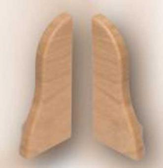 Фурнитура на плинтус Заглушка Торцевая ТЕКО-Люкс