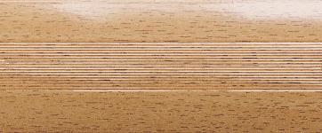 Порожки алюминиевые Акация 6-А (скрытый монтаж) глянцевый декор