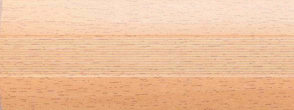 Угловой профиль Акация 30х30 (матовый) декор алюминиевый
