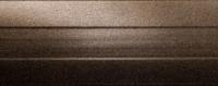 Порожки алюминиевые Бронза 6-А (скрытый монтаж) глянцевый декор