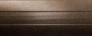 Порожки алюминиевые Бронза 19-А (скрытый монтаж) глянцевый декор
