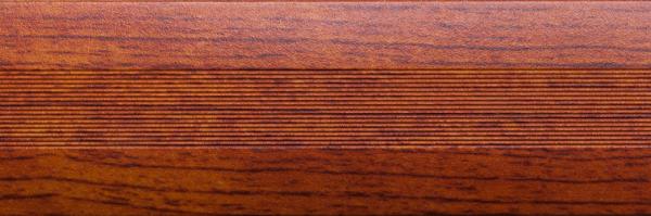 Угловой профиль Черешня 25х25 (матовый) декор алюминиевый