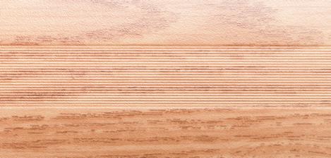 Угловой профиль Дуб альпийский 14-А (матовый) декор алюминиевый