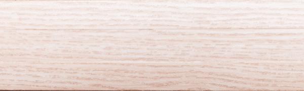 Угловой профиль Дуб беленый 14-А (матовый) декор алюминиевый