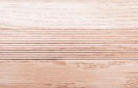 Угловой профиль Дуб беленый 30х30 глянец декор алюминиевый