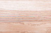 Угловой профиль Дуб беленый 25х25 глянец декор алюминиевый