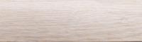 Порожки стыкоперекрывающие Дуб белый 5-А открытый монтаж ламинированные