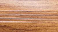 Угловой профиль Дуб бежевый 25х25 глянец декор алюминиевый