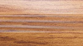 Угловой профиль Дуб бежевый 20х20 глянец декор алюминиевый