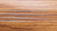 Порожки алюминиевые Дуб бежевый 10-А глянцевый декор
