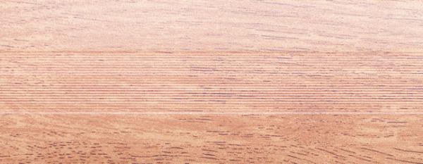 Угловой профиль Дуб пепельный 14-А (матовый) декор алюминиевый