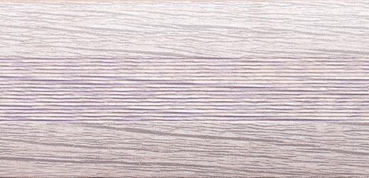 Угловой профиль Дуб пепельный 25х25 (матовый) декор алюминиевый