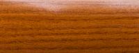 Порожки алюминиевые Дуб темный 1-А глянцевый декор
