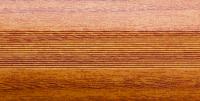 Угловой профиль Дуб рустик 25х25 (матовый) декор алюминиевый