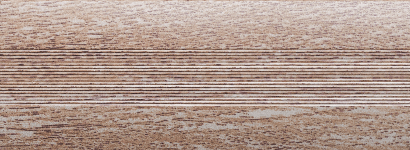 Угловой профиль Дуб серый 15х15 глянец декор алюминиевый