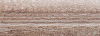 Угловой профиль Дуб серый 25х25 глянец декор алюминиевый