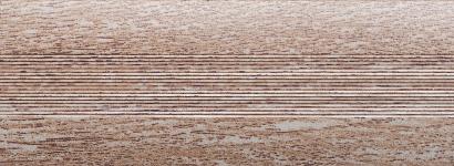 Порожки алюминиевые Дуб серый 6-А (скрытый монтаж) глянцевый декор