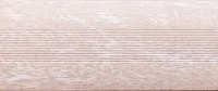 Угловой профиль Дуб серый 14-А (матовый) декор алюминиевый
