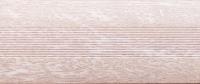 Порожки алюминиевые Дуб серый 6-А (скрытый монтаж) матовый декор