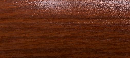 Угловой профиль Дуб темный 9-А (матовый) декор алюминиевый