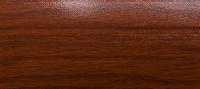 Угловой профиль Дуб темный 25х25 (матовый) декор алюминиевый