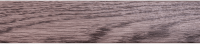 Порожки алюминиевые Дуб вулкан 6-А стыкоперекрывающие скрытый монтаж ламинированные
