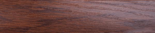 Порожки стыкоперекрывающие Каштан 1-А открытый монтаж ламинированные