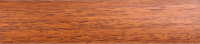 Порожки стыкоперекрывающие Лесной орех 22-А открытый монтаж ламинированные