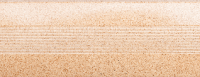 Угловой профиль Песок 25х25 глянец декор алюминиевый