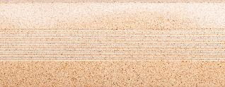 Угловой профиль Песок 15х15 глянец декор алюминиевый