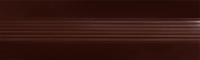 Угловой профиль Шоколад 30х30 глянец декор алюминиевый