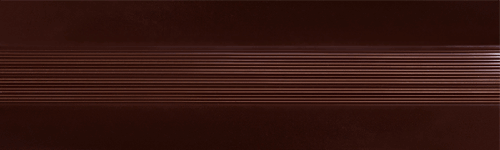 Угловой профиль Шоколад 14-А глянец декор алюминиевый