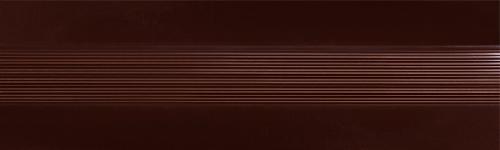 Угловой профиль Шоколад 9-А глянец декор алюминиевый