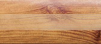 Угловой профиль Сосна 30х30 глянец декор алюминиевый