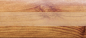 Угловой профиль Сосна 3-А глянец декор алюминиевый