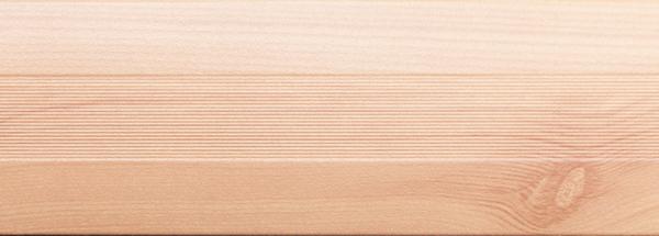 Угловой профиль Сосна 25х25 (матовый)  декор алюминиевый