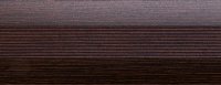 Угловой профиль Венге 25х25 (матовый) декор алюминиевый